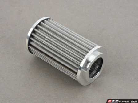 ES#3509347 - S20 - High Performance Stainless Steel Oil Filter - Reusable micronic oil filter with machine finished end caps. - K&P Engineering - Mercedes Benz