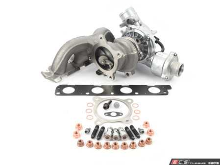 ES#3195159 - 8K0253115HKT3 - Turbocharger with ECS Installation Kit - Restore your boost levels and get going! - Assembled By ECS - Audi