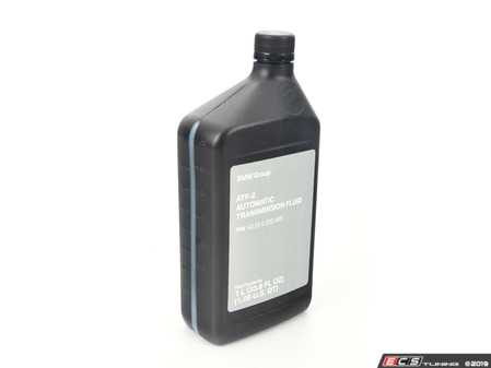 ES#2217398 - 83222220445 - M1375.4 Automatic Transmission Fluid - 1 Liter - For use in 6 speed ZF transmissions - meets Shell M1375.4 specifications - Genuine BMW - BMW