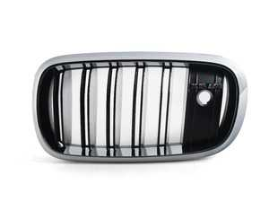 ES#2921565 - 51118056325 - X5 ///M Kidney Grille - Left - Add a performance look to your X5 - Genuine BMW - BMW