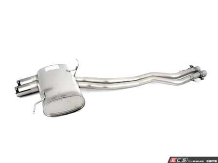 ES#3674792 - RM0880030584C - Remus Rear section and Muffler  - Dual 84mm Street Race Style Tips - Remus - BMW