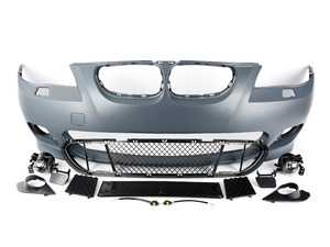 ES#3191415 - ECSE60MTFT - M-Tech Replica Bumper Conversion - Front - M-Tech styling at an affordable price - ECS - BMW