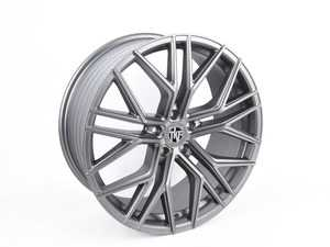 "ES#3969830 - 012-2KT3 - 20"" Tekniform Style 012 - Set Of Four - 20""x8.5"" ET45 5x112 - Matte Gunmetal - ECS - Audi BMW"
