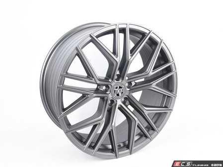 "ES#3969829 - 012-2KT2 - 20"" Tekniform Style 012 - Set Of Four - 20""x8.5"" ET45 5x112 - Matte Gunmetal - ECS - Audi Volkswagen"