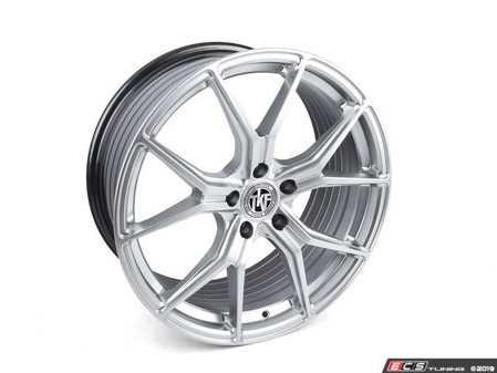 """ES#3969825 - 007-11KT3 - 19"""" Tekniform Style 007 - Square Set Of Four - 19x9.5"""" ET40 72.6CB 5x120. Hyper silver. Durable, lightweight, attractive! - ECS - BMW"""