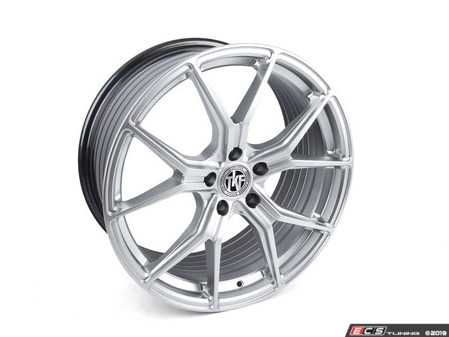 "ES#3969828 - 007-9KT1 - 19"" Tekniform Style 007 - Staggered Set Of Four - 19x8.5"" ET35/19x9.5"" ET40 72.6CB 5x120. Hyper silver. Durable, lightweight, attractive! - ECS - BMW"