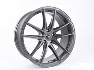 "ES#3969831 - 001-4KT3 - 19"" Tekniform Style 001 - Set Of Four - 19""x8.5"" ET45 5x112 - Matte Gunmetal - ECS - Audi BMW MINI"