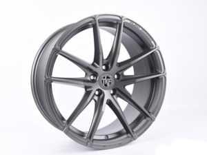 "ES#3969817 - 001-4KT2 - 19"" Tekniform Style 001 - Set Of Four - 19""x8.5"" ET45 5x112 - Matte Gunmetal - ECS - Audi Volkswagen"