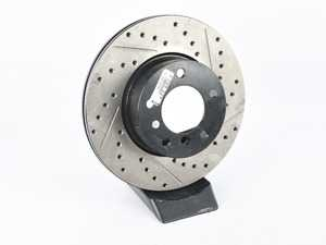 ES#3709339 - 127.34077L669SD - StopTech - *Scratch And Dent* - This design removes performance robbing outgas and material dust caused by braking - StopTech - BMW