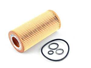ES#2575543 - 2751800009 - Engine Oil Filter - Priced Each - Contains all needed o-rings for installation - Mahle - Mercedes Benz
