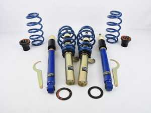 """ES#3706756 - S1VW008sd1 - Solo-Werks S1 Coilovers - *Scratch And Dent* - *Please see description prior to ordering* Lowers front: 1.2""""-2.2"""", rear: 1.6""""-2.4"""" - Solo-Werks - Volkswagen"""