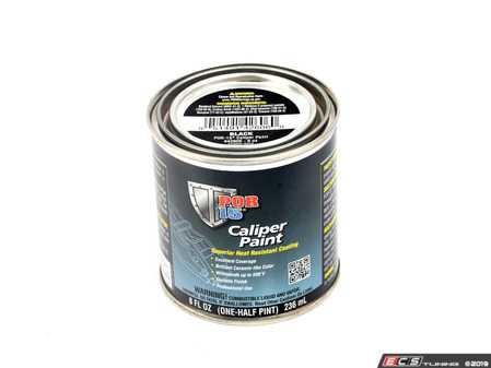 ES#3551568 - por42606KT - Caliper Paint - Black - Absolute Coating ( POR15) in 8 oz can