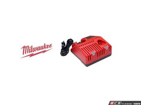 ES#3970312 - MWK-48-59-1812 - M18™ & M12™ Multi-Voltage Charger - Quickly charges all M12™ and M18™ battery packs - Milwaukee - Audi BMW Volkswagen Mercedes Benz MINI Porsche
