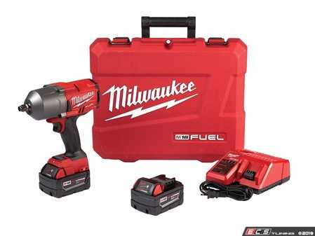 ES#3970317 - MWK-2767-22 - M18 FUEL 1/2 High Torque Impact Wrench Kit - Delivering 1000 ft-lbs of fastening torque and 1400 ft-lbs of nut-busting torque - Milwaukee - Audi BMW Volkswagen Mercedes Benz MINI Porsche