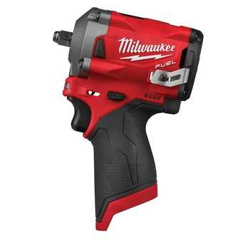 "ES#3970321 - MWK-2554-20 - M12 FUEL™ Stubby 3/8"" Impact Wrench - Greatest access in tight with 250 ft.-lbs. breakaway torque - Milwaukee - Audi BMW Volkswagen Mercedes Benz MINI Porsche"