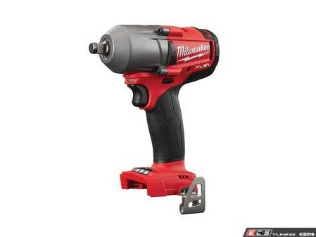 """ES#3970355 - MWK-2861-20 - M18 FUEL™ 1/2"""" Mid-Torque Impact Wrench With Friction Ring - Delivering 450 ft-lbs Fastening torque and 600 ft-lbs Nut-Busting torque - Milwaukee - Audi BMW Volkswagen Mercedes Benz MINI Porsche"""