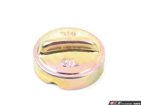 ES#3424350 - 91110707203 - Oil Filler Cap - Priced Each - Remote oil filler cap to close off the oil filler neck - Genuine Porsche - Porsche