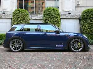 ES#3970439 - F54SS1.1PCF - Duell AG F54 Clubman Krone Edition Side Steps Pair - FRP/Partial CF - Straight from Japan aggressive side steps/rocker panel that has an import tuner design - Duell Ag - MINI