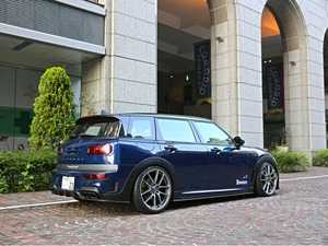 ES#3970437 - F54SS1.1FRP - Duell AG F54 Clubman Krone Edition Side Steps Pair - FRP - Straight from Japan aggressive side steps/rocker panel that has an import tuner design - Duell Ag - MINI