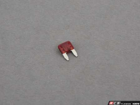 ES#2884 - 7.5AMPMINI - Mini 7.5 Amp Fuse-Priced Each - Brown/Red - Pudenz - Audi BMW Volkswagen MINI Porsche
