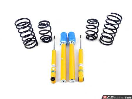 ES#2983681 - 46-000132 - B12 Pro-Kit Suspension System - Expertly matched performance Eibach Pro-line lowering springs and Bilstein shock/strut package for a dramatic increase in performance handling. World-famous Bilstein quality with a limited lifetime warranty! - Bilstein - BMW