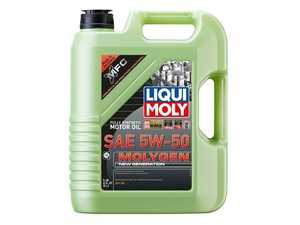 ES#3970553 - 20310 - Molygen New Generation Engine Oil (5w-50) - 5 Liter - Full synthetic oil with fluorescent, friction-reducing additive! - Liqui-Moly -