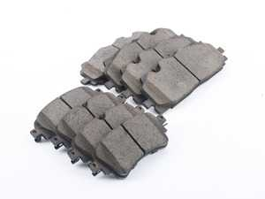 ES#3969938 - 16-1894KT - Z16 Evolution Ceramic Front & Rear Brake Pad Set - Feature a true ceramic formula that keeps wheels cleaner, and wont wear-out the rotor - Power Stop - Audi