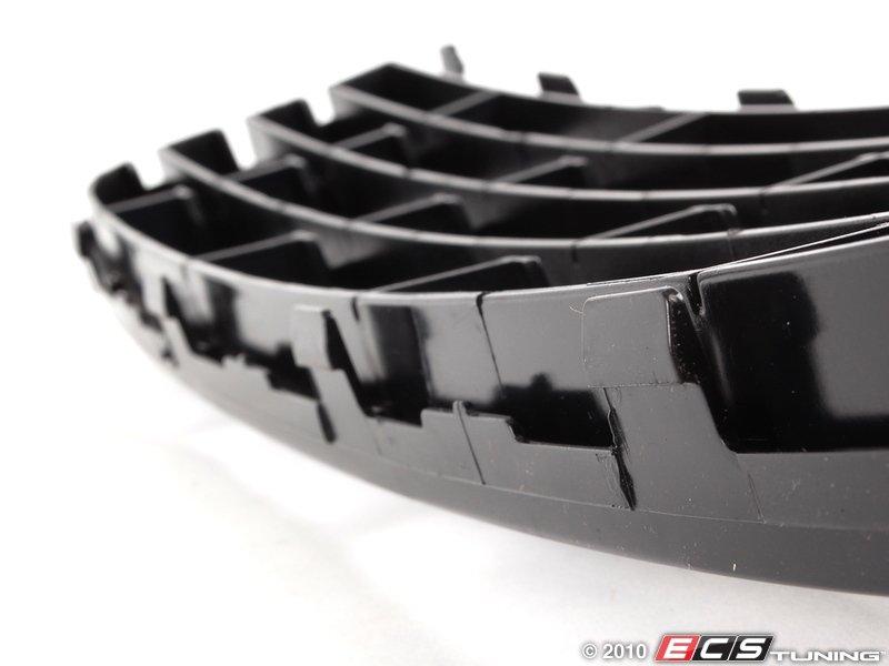 genuine volkswagen audi kcb  center grille black