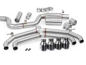 ES#3971002 - CBK0018 - APR MK7 Golf R Cat-Back Exhaust System - Non-Valved - Hand-crafted T304 stainless-steel construction - APR - Volkswagen