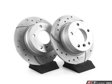 ES#3673011 - 34216752545U - Bavarian Autosport Ultimate Brake Rotor Set - Rear - Couple these with upgraded pads for dramatically improved stopping. - Bavarian Autosport - BMW
