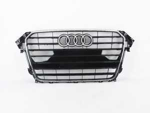 ES#3970925 - 8K0853651GT94SD - S-Line Grille Assembly - Glossy Black With Chrome Trim - *Scratch And Dent* - *Please see description prior to ordering* Clean up or change your look - Genuine Volkswagen Audi - Audi