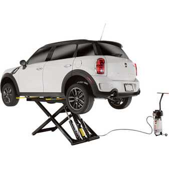 ES#3971212 - 1375652 - SX-6/XL 6000 Lb. Capacity / Mid Rise / Frame Lift / Portable - Great portable lift for your home garage. Easy to move lift where you need it. - Dannmar - Audi BMW Volkswagen Mercedes Benz MINI Porsche