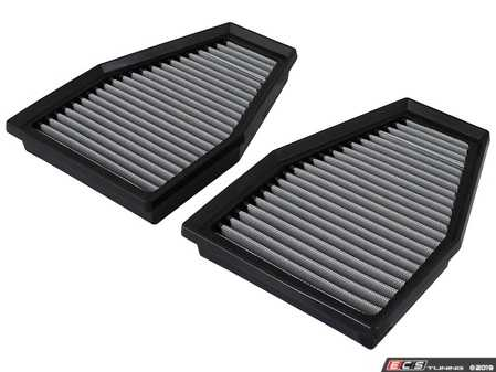 ES#2985088 - 31-10242 - Magnum FLOW Pro DRY S Air Filter Set - Oil free dry synthetic media allowing significant airflow over stock paper media - AFE - Porsche