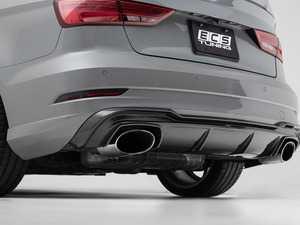 ES#3619013 - 027002ECS01 - Audi 8V RS3 Carbon Fiber Rear Diffuser - Hand-laid carbon fiber to upgrade your exterior styling - ECS - Audi