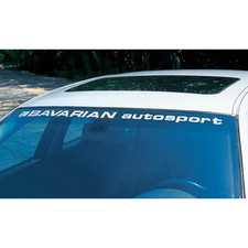ES#3673983 - BASDECALWD2 - Bavarian Autosport Window Decal - Silver Die-cut Vinyl - Show your love for this sought after brand. - Bavarian Autosport - BMW