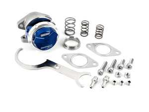 ES#3970381 - TS-0551-1011 - WG38 Gen V Ultra-Gate 38 - 14PSI - Blue - Bolt on external wastegate from Turbosmart - TurboSmart - Audi BMW Volkswagen Mercedes Benz MINI Porsche