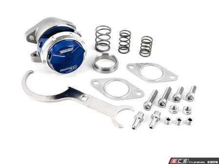 ES#3970381 - TS-0551-1011 - WG38 Gen V Ultra-Gate 38 - 14PSI - Blue - Bolt on external wastegate from Turbosmart - TurboSmart - Audi BMW Volkswagen Mercedes Benz MINI Porsche