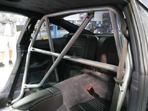 ES#3979206 - AP-911-500S - Race Roll Bar With Harness And Diagonal Bar - Silver - Quality roll cage to keep you safe on the track - Agency Power - Porsche