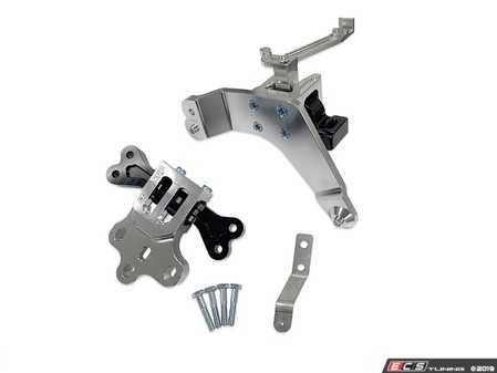 ES#3979244 - 034-509-5030 - TrackSport Engine/Transmission Mount Pair  - These mounts are designed with extreme performance in mind, manufactured from billet aluminum and high-durometer rubber, making them virtually indestructible. - 034Motorsport - Audi