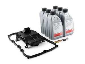 ES#3072232 - 0C8325435AKT1 - 8-Speed Automatic Transmission Filter Service Kit - A complete service kit for your transmission - Assembled By ECS - Audi Volkswagen