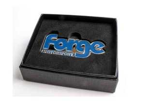 ES#3979259 - FMCBBLUE - Forge Motorsport Badge - Blue - Add the Forge Metal/chrome logo to your Car! - Forge - Audi BMW Volkswagen MINI Porsche