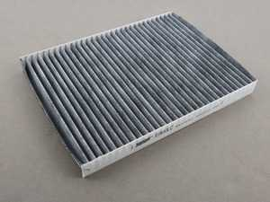 ES#3676643 - 1J0819644 - Charcoal Lined Cabin Filter / Fresh Air Filter - The activated charcoal filters odor from reaching the cabin - Hengst - Audi Volkswagen