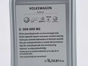 ES#3628523 - g004000m2 - Hydraulic / Power Steering Fluid - 1 Liter - (NO LONGER AVAILABLE) - SS - Genuine Volkswagen Audi - Audi Volkswagen