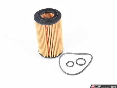 ES#3691250 - 6511800109 - Engine Oil Filter - Priced Each - Includes all o-rings needed for installation - Mahle - Mercedes Benz