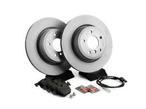 ES#2588536 - 34356789445KT1 - Rear Brake Service Kit - Featuring Zimmermann rotors and Textar pads - Assembled By ECS -