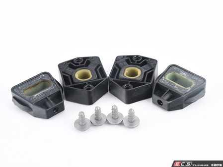 ES#3659545 - 1j0806155dKT - Radiator Installation Kit - Don't reuse old worn radiator mounts - Assembled By ECS - Audi