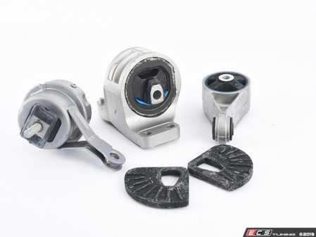 ES#2593536 - 22116756406KT4 - Drivetrain Mount Kit - Complete engine / drivetrain mount replacement kit : Automatic transmission - Cooper S/JCW - Assembled By ECS - MINI