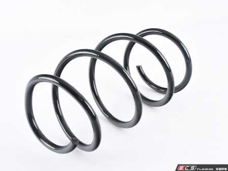 ES#3676466 - 36-266722 - Front Spring - Priced Each - Black, powder-coated B3 replacement coil spring - Bilstein - BMW