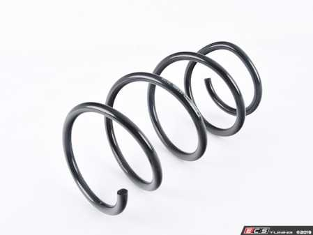 ES#3219252 - 37-161880 - Front Spring - Priced Each - Black, powder-coated B3 replacement coil spring - Bilstein - BMW