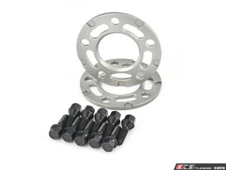 ES#3551717 - twh9905003KT1 - Turner Motorsport Silver Wheel Spacer & Bolt Kit - 7.5mm - Lightweight wheel spacers with a machined tab for easy removal - Turner Motorsport - BMW
